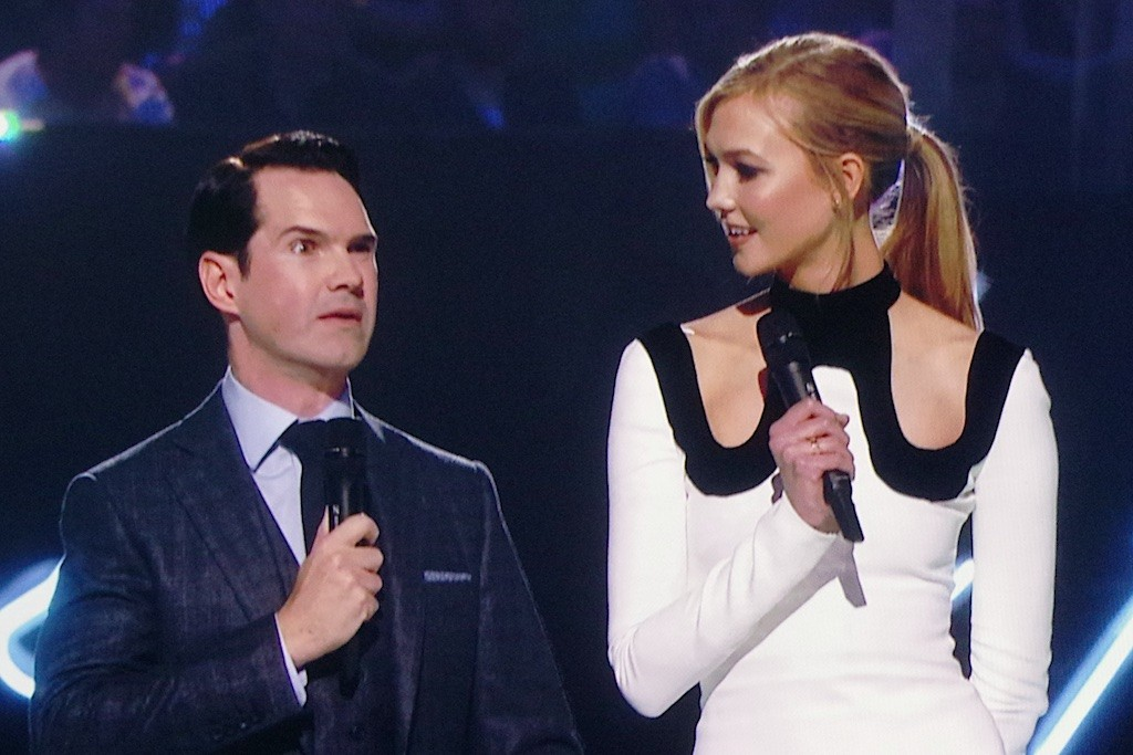 Brits 2015 - Two presenters doesn't work