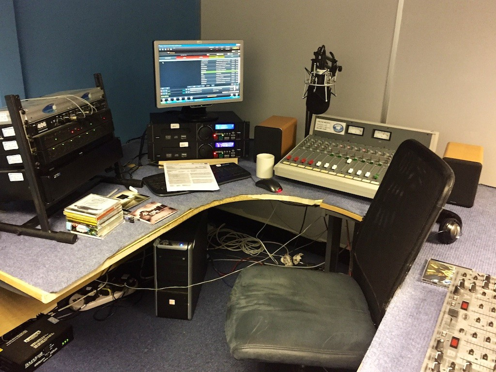 Radio virgin - South Leeds Community Radio studio